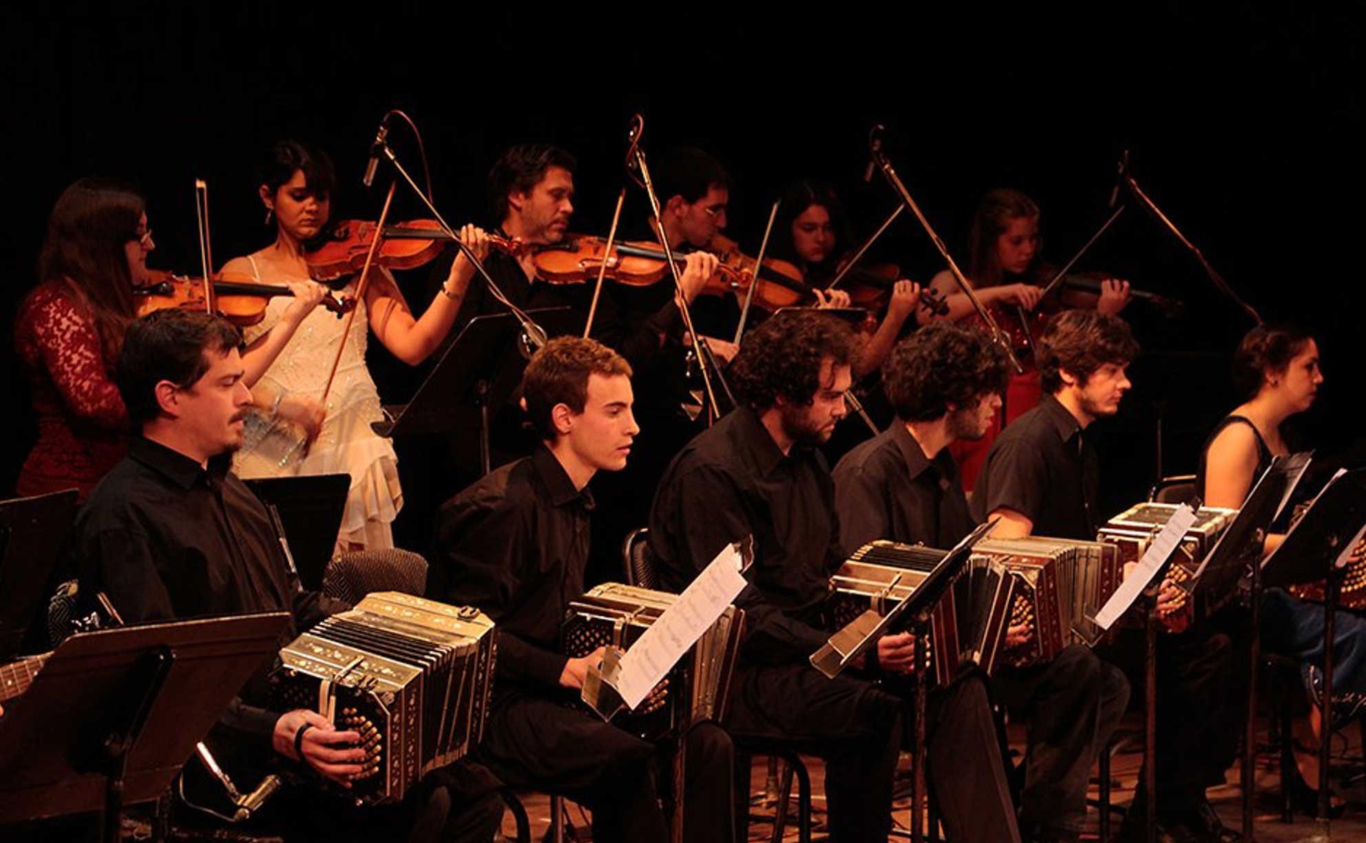 Orquesta Típica en Conserva